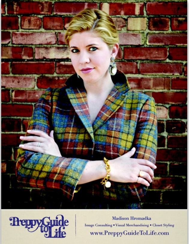 Preppy Guide to Life Pattern Indy Magazine