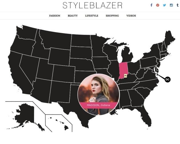 USA Map Style jPG